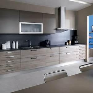 Besoin d39aide peinture maison for Idee deco cuisine avec cuisine avec carrelage gris clair