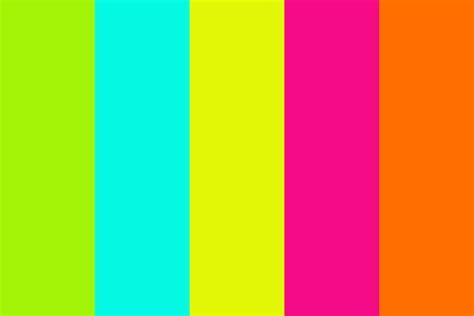 Fluo color Color Palette