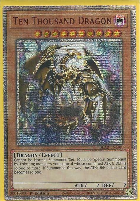 blar en ten thousand dragon  secret rare