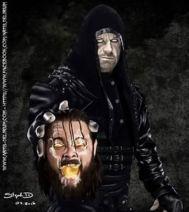 Undertaker vs Bray Wyatt by stephtlm on DeviantArt