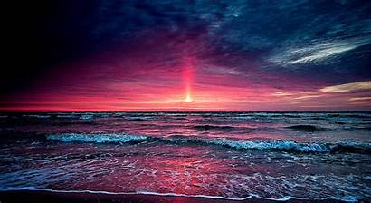 Sunset Desktop Beach Background Wallpapers Florida Backgrounds
