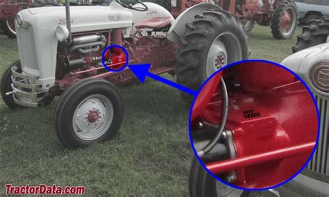 tractordatacom ford  tractor  information