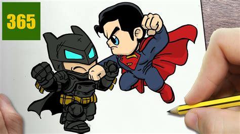 comment dessiner batman contre superman kawaii 201 par 201 dessins kawaii facile