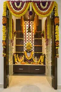 best colour for pooja room color combination puja room With what kind of paint to use on kitchen cabinets for hindu god wall art
