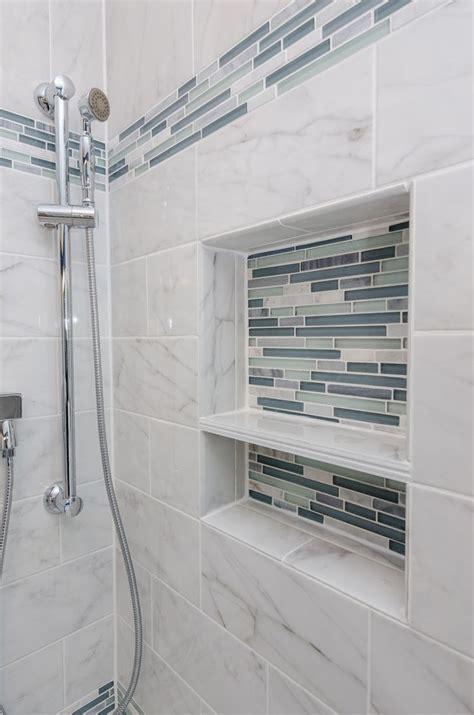 arleystone bliss linear  waterfall mosaic bathrooms