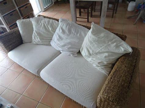 canape jonc de mer canap 233 jonc de mer annonce meubles et d 233 coration parc de la baie orientale martin