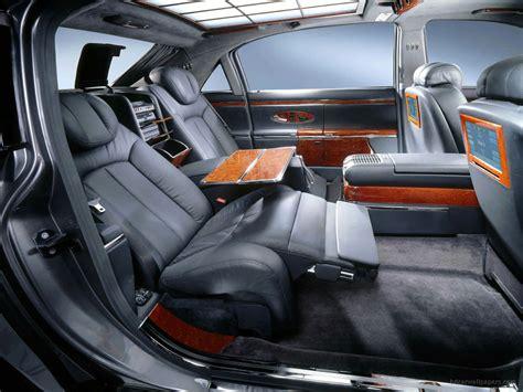 Maybach Car : Maybach Interior 3 Wallpaper