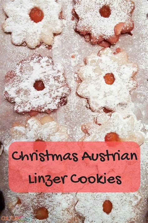 Suete from austria explains how, in her country, children enjoy making christmas decorations from a. Austrian Linzer cookies | Recipe | Cookies, Linzer cookies ...