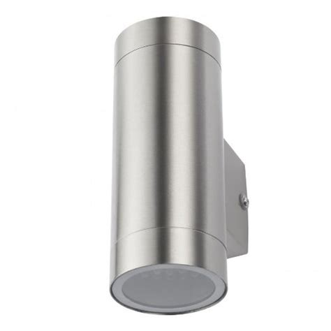6 8 watt up down ip44 rated outdoor led wall light