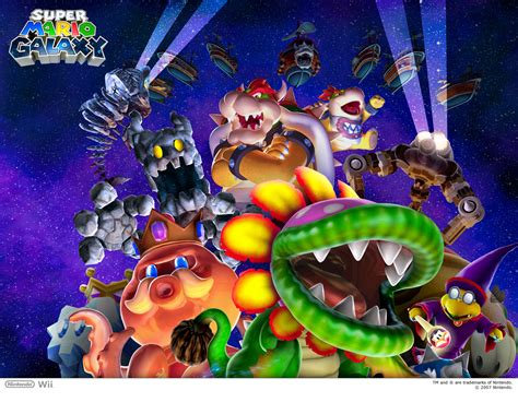 Nintendo Wii Super Mario Galaxy Game Manual Game