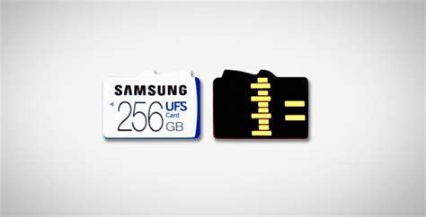 samsung  developed slot  takes ufs  microsd cards