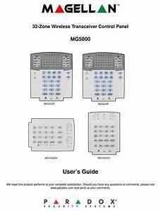 Paradox Mg5000 User Manual Pdf Download