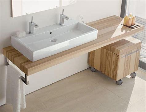 meuble suspendu chambre meuble vasque de design moderne en 60 exemples
