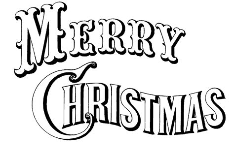 Get Font From Image Quot Merry Quot Black White Image Created From A