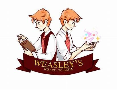 Wizard Wheezes Weasley Potter Harry Deviantart Fred