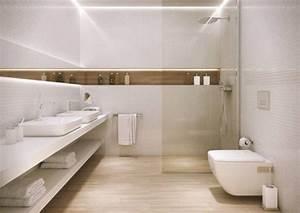 Fliesen Holzoptik Badezimmer : badideen fliesen holzoptik boden dusche glaswand wandnische led leiste wei e wand mosaik ~ Eleganceandgraceweddings.com Haus und Dekorationen
