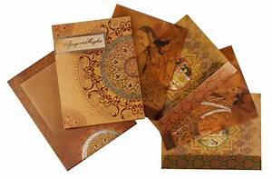royal indian wedding card with traditional paintings With royal hindu wedding invitations