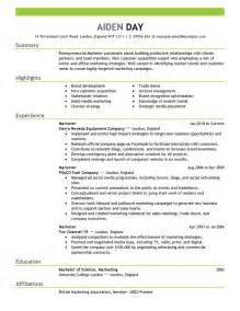 resume format for sales and marketing in india vp sales and marketing resume student resume template
