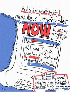 Election 2020 Zine  How To Vote In Connecticut