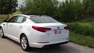 2012 Kia Optima Premium Package Snow White Pearl By Ben