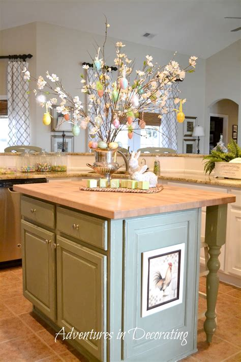 decorate kitchen island adventures in decorating flowers are blooming in the kitchen