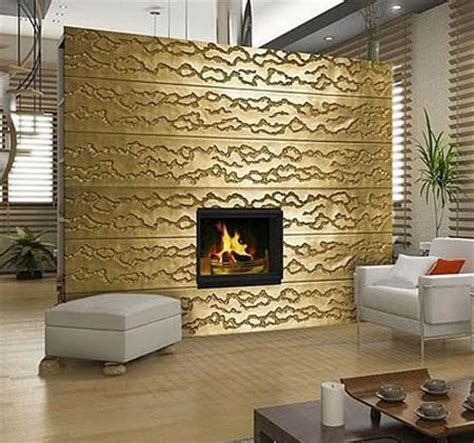 home interior materials decorative 3d wall panels adding dimension to empty walls in modern interiors