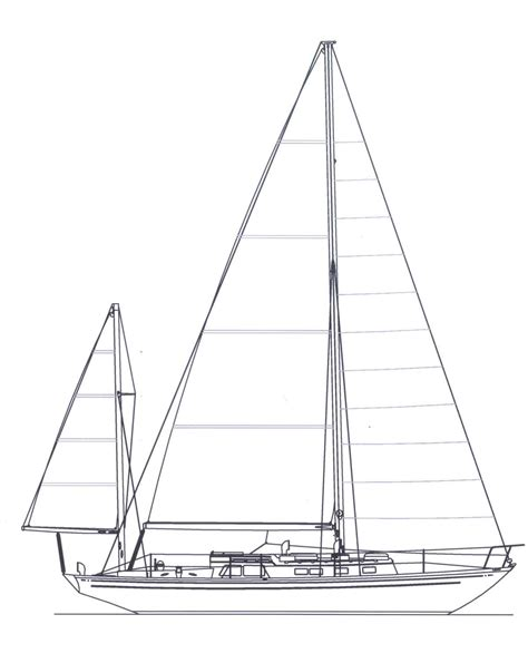 Boat Lines by Ingenious Line Drawing Sailboat Sailing Boat Sailor