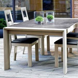 meuble salle a manger With meuble de salle a manger avec table rectangulaire avec rallonge