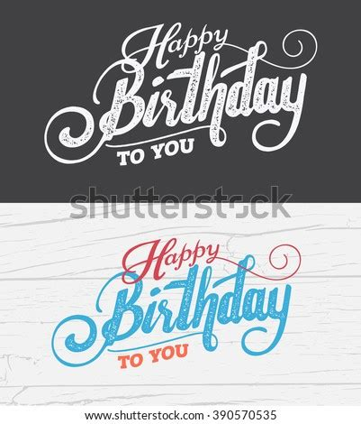 This card prints one per page and is accessible. Letter Happy Birthday Card Fonts Grunge Stock Vector 390570535 - Shutterstock