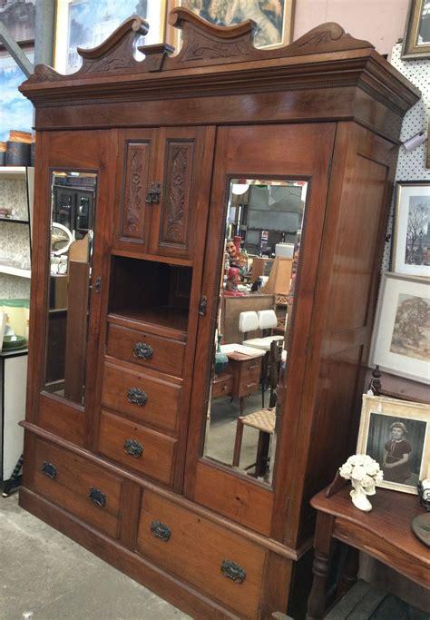 antique edwardian carved blackwood  doors  drawers