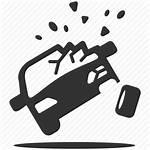 Icon Accident Crash Heavy Damages Violent Accidents