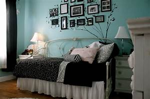 bed, black, blue, cute, pillow, room - image #103606 on ...