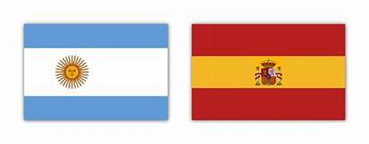 Argentina Spain Flags Each Vexillology
