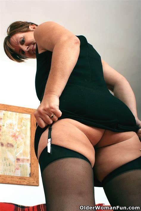 Gorgeous Granny Joy In Black Stockings Nude Big Tits Images Redtube