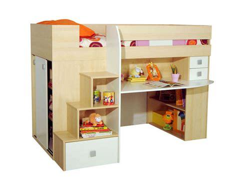 lit bureau conforama lit 90x190 cm surélevé combiné lit bébé