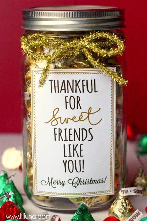 christmas gift ideas for friends 37 mason jar christmas crafts fun diy holiday craft projects