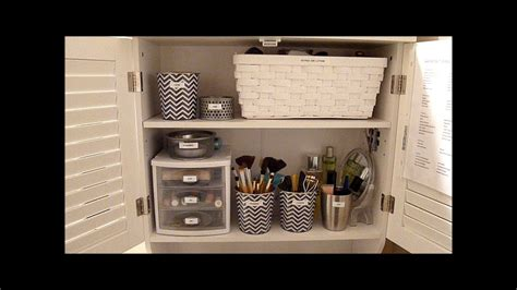 budget makeup organization   organize  bathroom