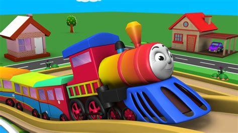 Cartoon Train For Children