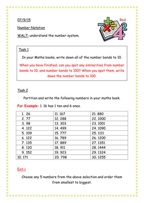ks3 place value worksheet by jinkydabon teaching resources tes