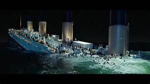 Titanic sinking scene 1997 cadillac
