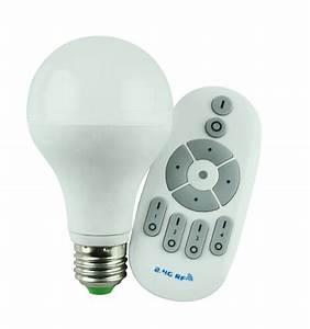 Variateur Pour Led : ampoule led 12 watt intensit variable avec t l commande ~ Edinachiropracticcenter.com Idées de Décoration