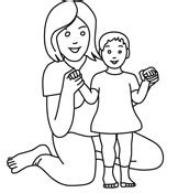 single parent family clipart black and white free black and white clipart clip pictures