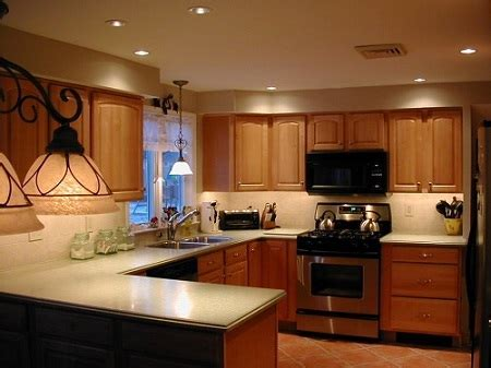 Kitchen Lighting Ideas, Design Tips, Ceiling Recessed Layout