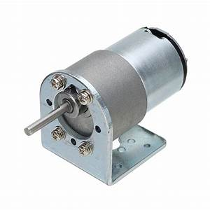 Chihai Motor Dc 12v 200rpm Encoder Motor Hall Encoder Motor With Mounting Bracket