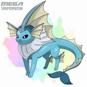 Mega Vaporeon by Ferrari94 on DeviantArt