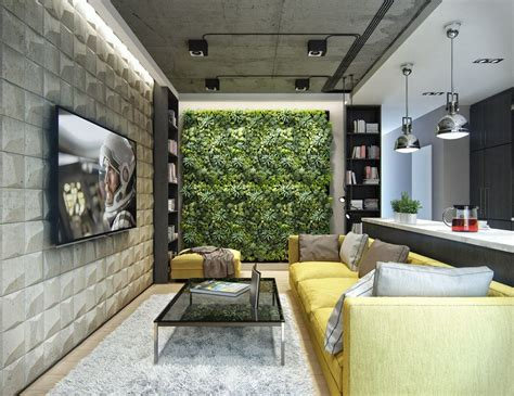 3 Inspiring Homes With Concrete Ceilings And Wood Floors by 201 Clairage Plafond Beton Condo Concrete Ceiling