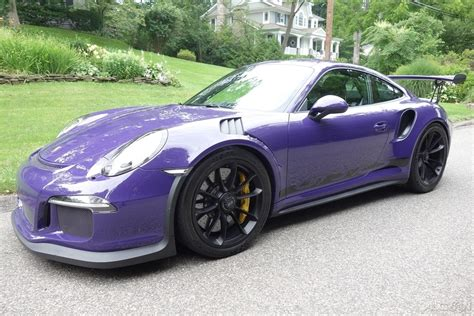 For Sale Porsche 911 Gt3 Rs Ultraviolet