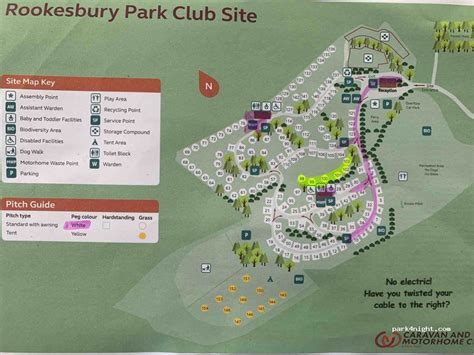 wickham  rookesbury park caravan club site hampshire