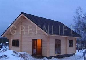 Chalet Bois Kit : chalet bois rosina 80 maison bois greenlife ~ Carolinahurricanesstore.com Idées de Décoration