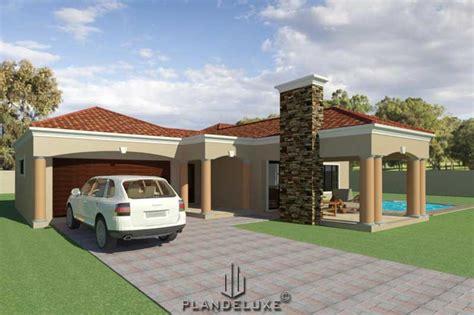 bedroom house plans  double garage  wwwresnoozecom
